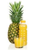 Pineapple juice — Stock Photo