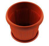Plastic pot — Stock Photo