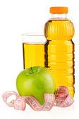 Bottle of juice — Stockfoto