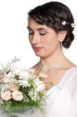 Portrét nevěsta — Stock fotografie
