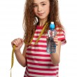 Girl with water — Stock Photo #10464439