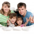 Happy family — Stock Photo #10464568