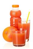 Botella de jugo — Foto de Stock