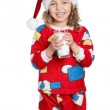 Little girl in pajamas — Stock Photo #8030722
