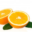 Ripe orange - Stock Photo