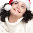 christmas girl&quot — Stock Photo