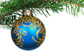 Christmas baubles — Foto Stock