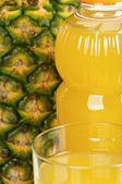 Pineapple juice — Stock fotografie