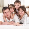 Happy family — Stock Photo #8617943