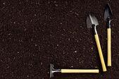 Soil and garden tool — Stock Photo