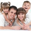 Happy family — Stock Photo #9359247