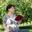 Pregnant woman — Stock Photo #9360216