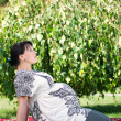 Pregnant woman — Stock Photo #9360227