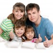 Happy family — Stock Photo #9582388