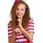 Girl with bunny ears — Stock Photo #9663903