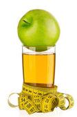 Apple juice — Stock Photo