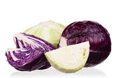 Fresh cabbage — Foto Stock