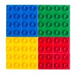 Stock Photo: Plastic building blocks