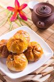 Famous Malaysian food - Siew Pao — Stock Photo