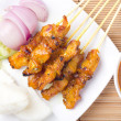 Stock Photo: Chicken Satay