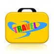 Travel Suitcase — Stock Photo