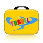 Travel Suitcase — Stock Photo