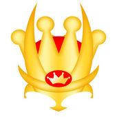 Corona del rey — Foto de Stock