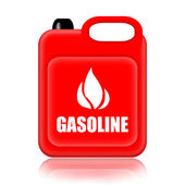 Gasoline canistre — Stock Photo