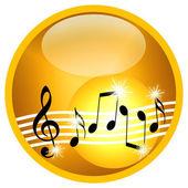 Illustrazione di musica — Foto Stock