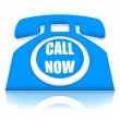 Foto Stock: Call Now Telephone