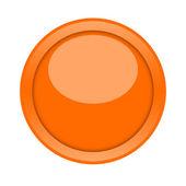 Orange knopf — Stockfoto