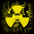 Radioactive Pollution — Stock Photo