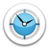 Modern Clock — Stock Photo