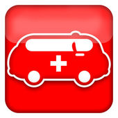 Ambulance Car — Stock Photo