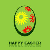 Happy Easter Design — Stock Photo