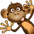 Постер, плакат: Funny monkey