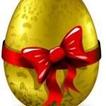 Golden egg — Stock Vector #9440767