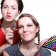 Selection of make-up stylist — Stock Photo #8355649