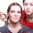 Selection of make-up stylist — Stock Photo #8355656