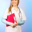 Young pretty Healthcare Worker — Stock Photo #8683768