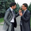 Two businessmen arguing — Foto de Stock