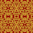 Abstract seamless pattern - Stockvektor