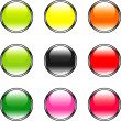 Color buttons - Vettoriali Stock