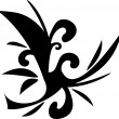 Design floral tattoo symbol — Stock Vector #8012503