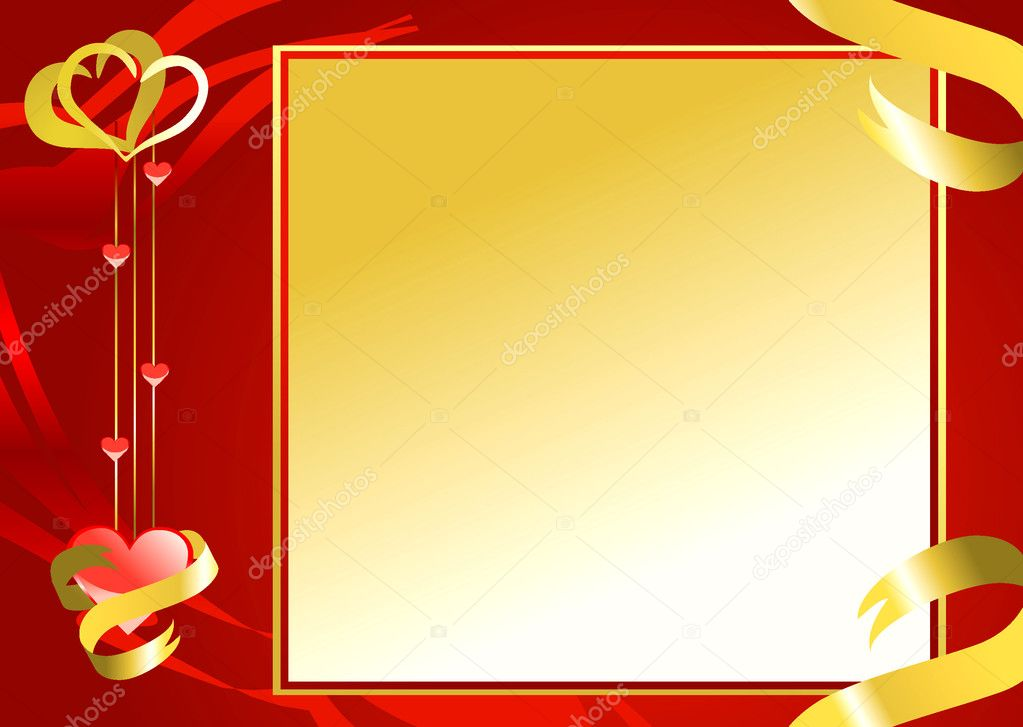 Valentine background for your design — Imagen vectorial #8011952