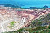 Open pit mine — Stock Photo