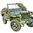 Постер, плакат: US army jeep