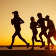 Royalty-Free Stock Photo: Group of runners
