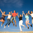 Party on beach — Stock Photo #9900939