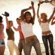 Party on the beach — Stock Photo #9900993